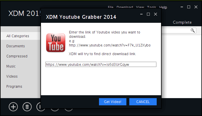 Youtube Video Download Manager