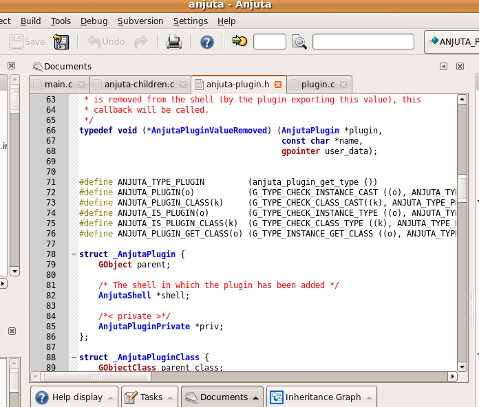 Anjuta DevStudio for Linux