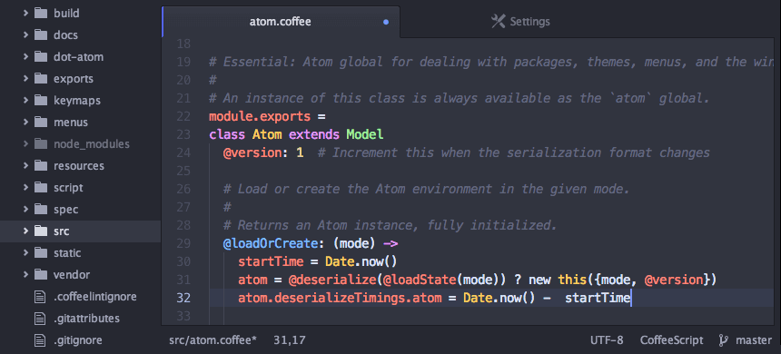 Atom Code Editor for Linux