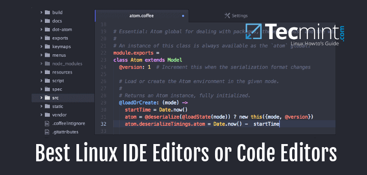 Best Linux IDE Editors or Source Code Editors