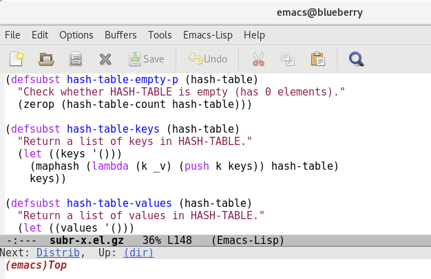 Emacs Editor for Linux