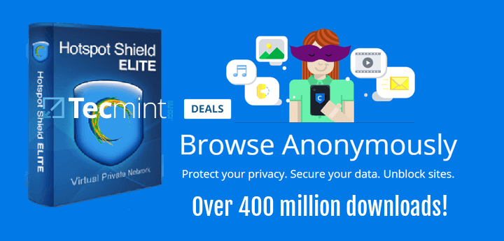 Hotspot Shield Elite VPN: Lifetime Subscription