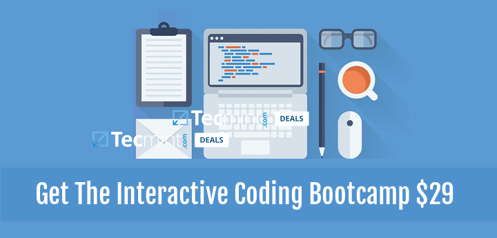 Get Interactive Coding Bootcamp Course