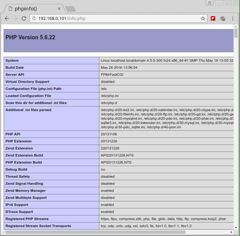 Verify PHP Details