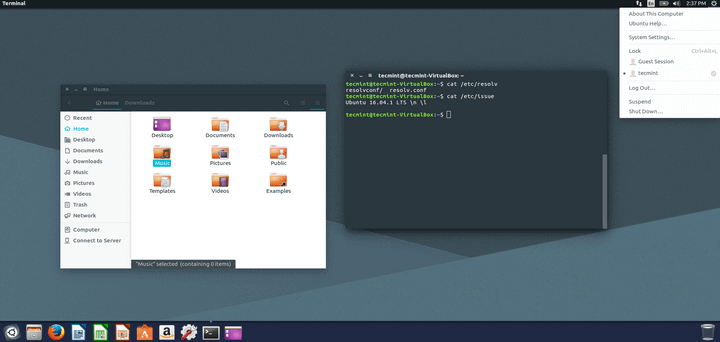 Adapta Theme for Ubuntu and Linux Mint