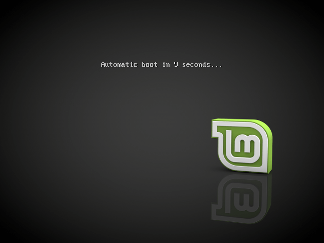 Booting Linux Mint
