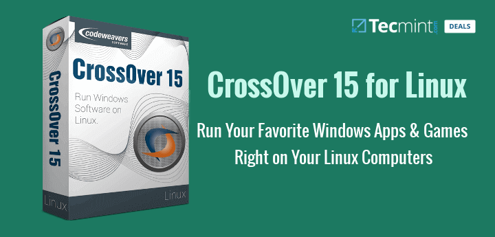CrossOver Run Windows Softwares on Linux