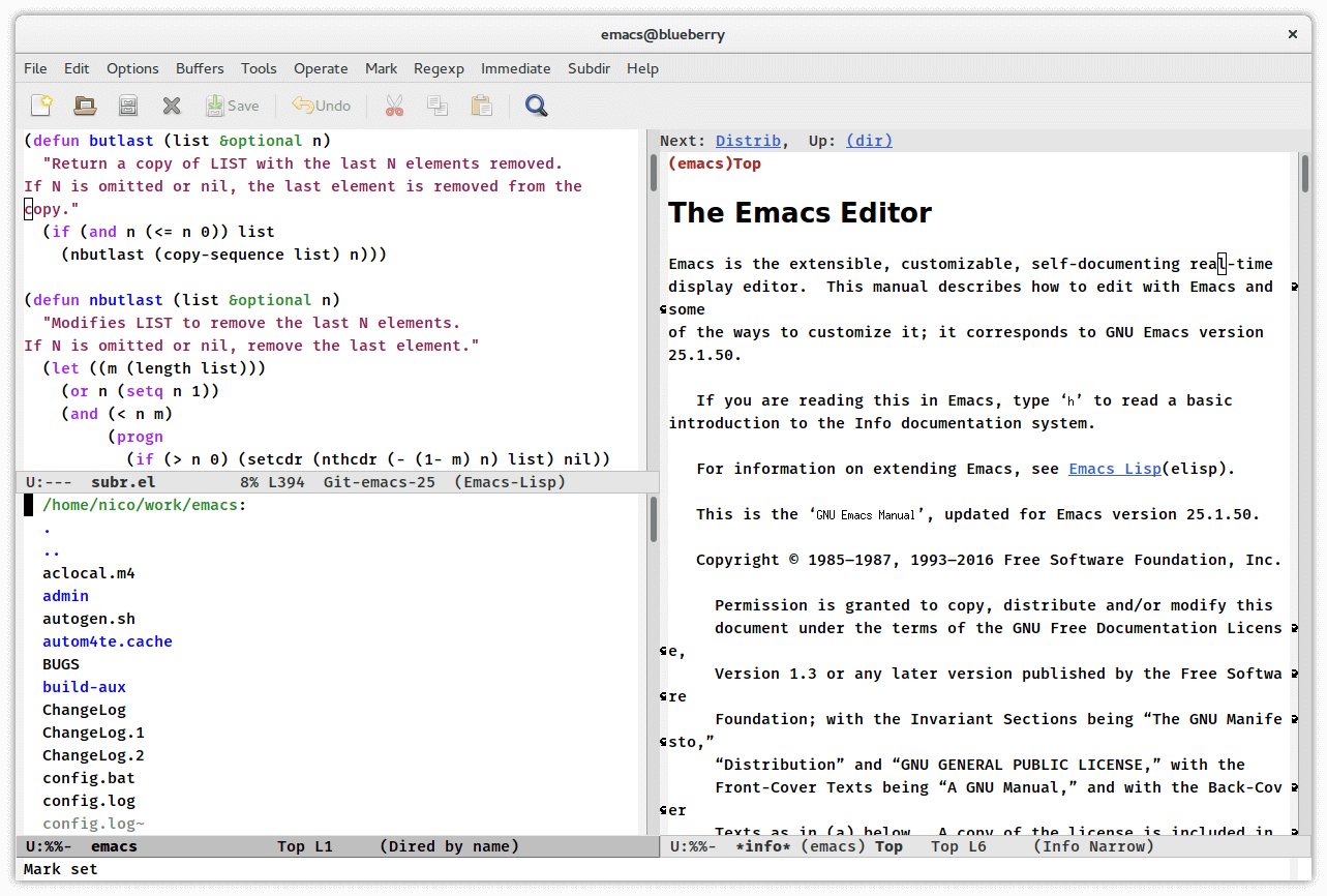 Emacs Markdown Editor for Linux