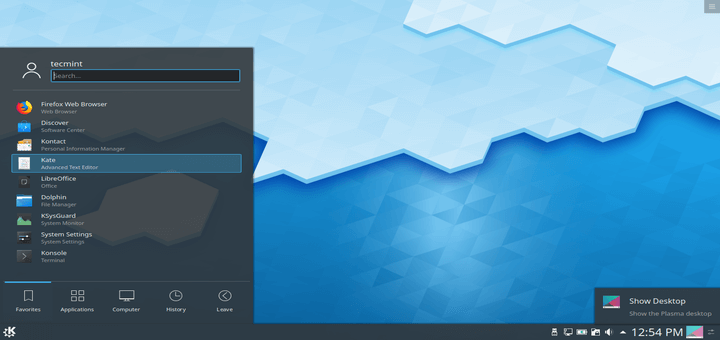 Install KDE Plasma in Ubuntu