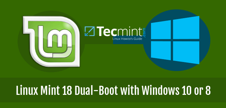 Install Linux Mint 18 Dual-Boot with Windows 10 or Windows 8