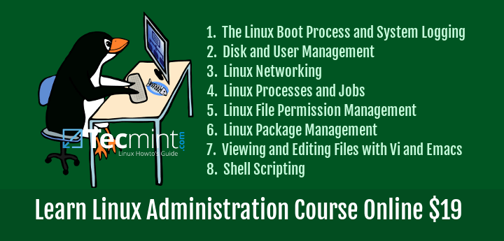 Learn Linux Administration Course Online