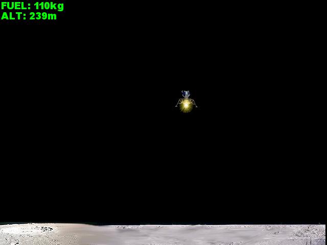 Linux Lunar Lander