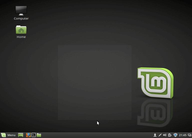Linux Mint 18 Desktop