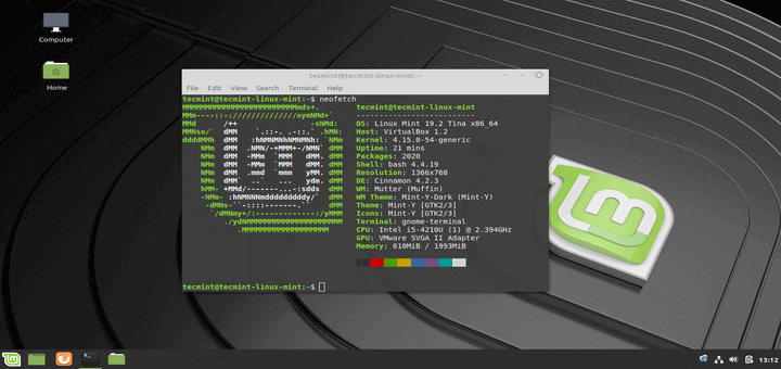Installation Guide of Linux Mint 19.2 Codename 'Tina' with Screenshots