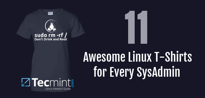 Linux SysAdmin T-Shirts