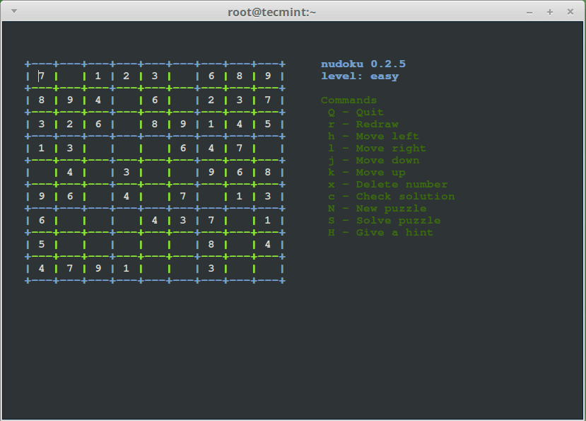 12 amazing terminal based games for linux enthusiasts.