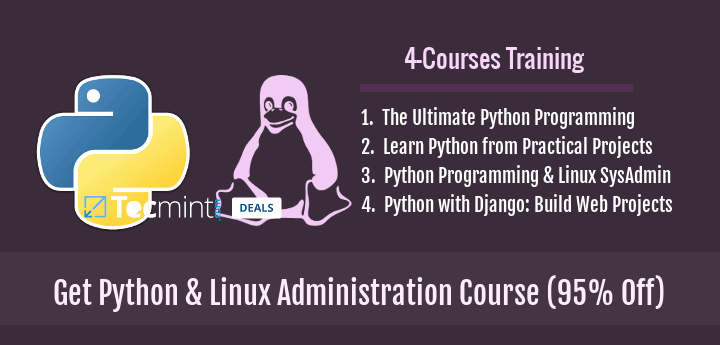 Learn Python and Linux Administration Course