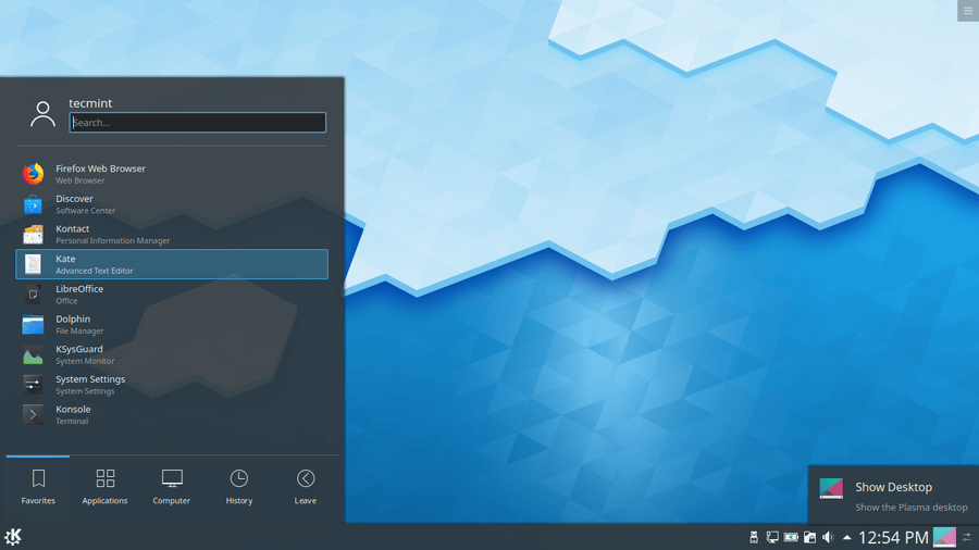 How To Install Kde Plasma 5 17 In Ubuntu Linux Mint Fedora And Opensuse