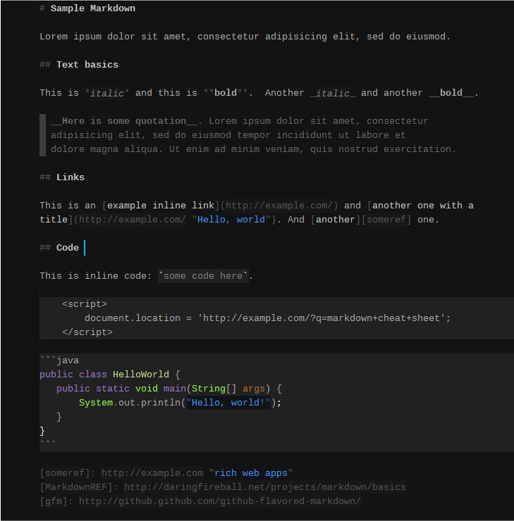 SublimeText Markdown Plugin Preview