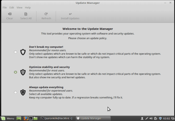 Update Linux Mint 18 Beta to Linux Mint 18 Stable