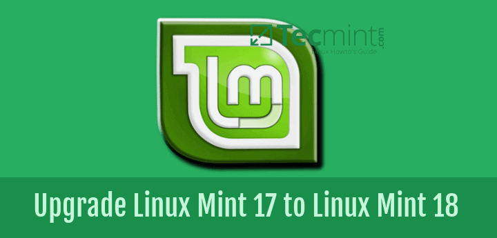 Upgrade Linux Mint 17 to Linux-Mint 18