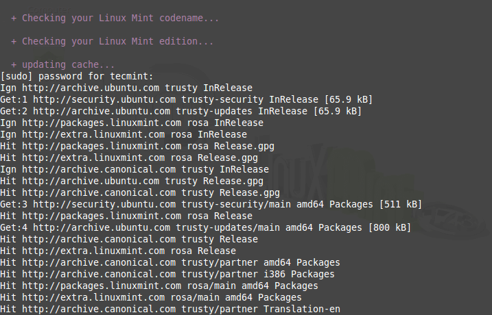 Linux Mint Upgrade Check