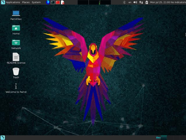 Parrot OS Desktop