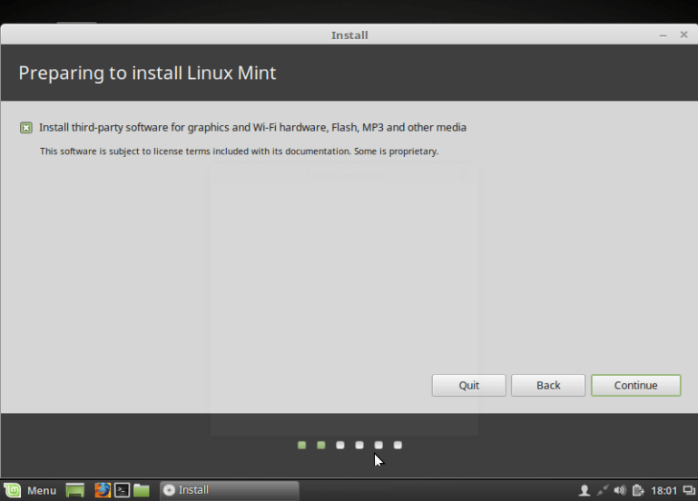 Select to Install Third-party Software