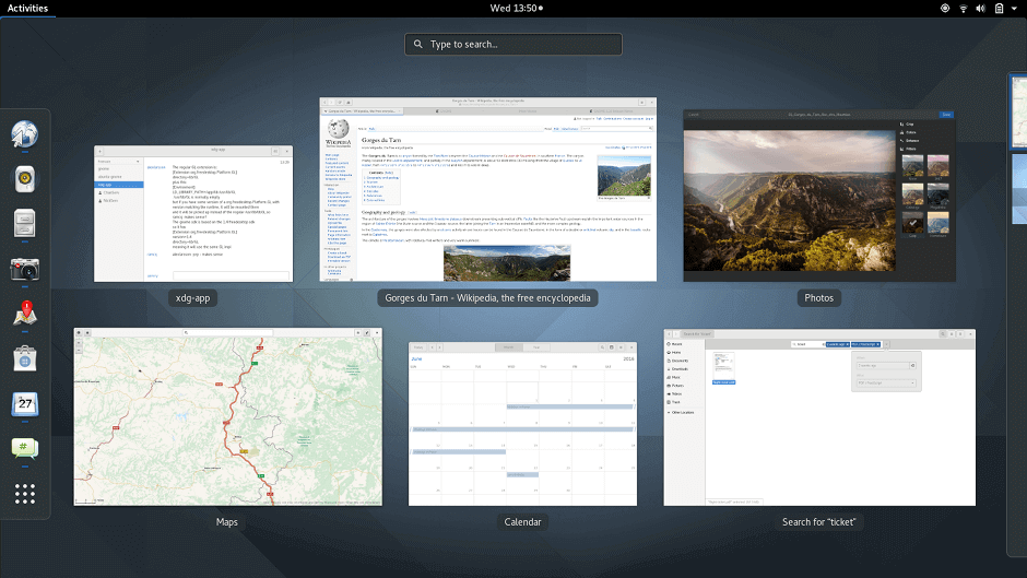 Gnome 3 Desktop Environment for Linux