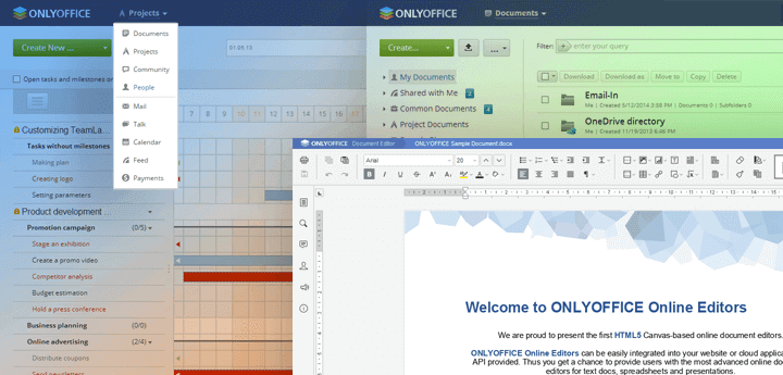 ONLYOFFICE Suite for Linux