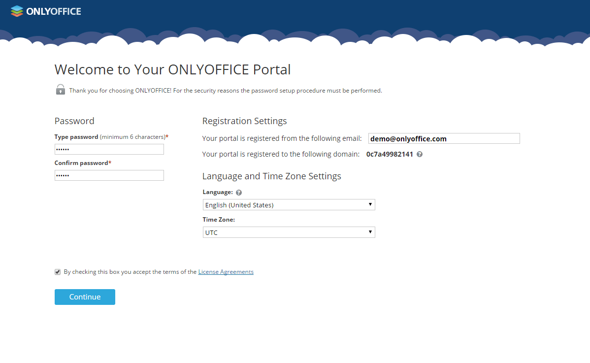 ONLYOFFICE Installation Wizard