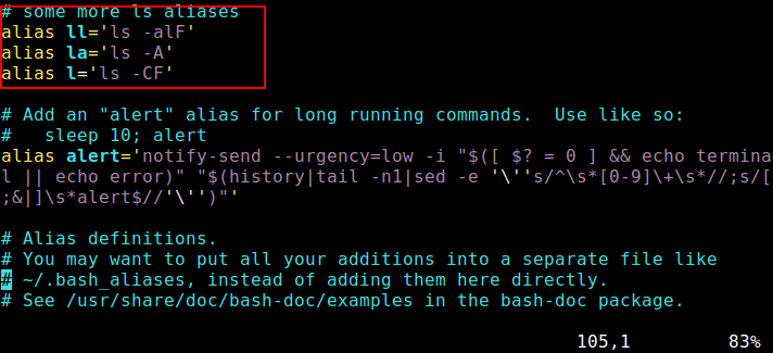 Set Aliases Permanent in Linux