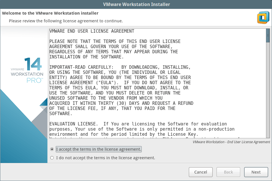 license key for vmware workstation 14