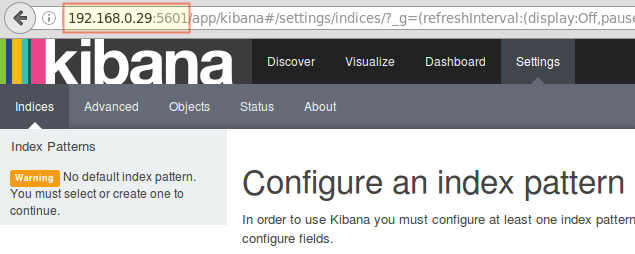Access Kibana Web Interface