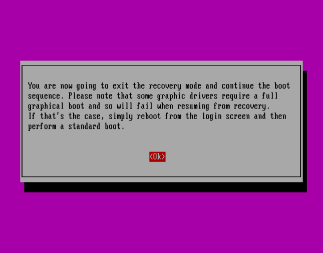 Resume normal boot ubuntu - ubuntu - Why is my machine not showing