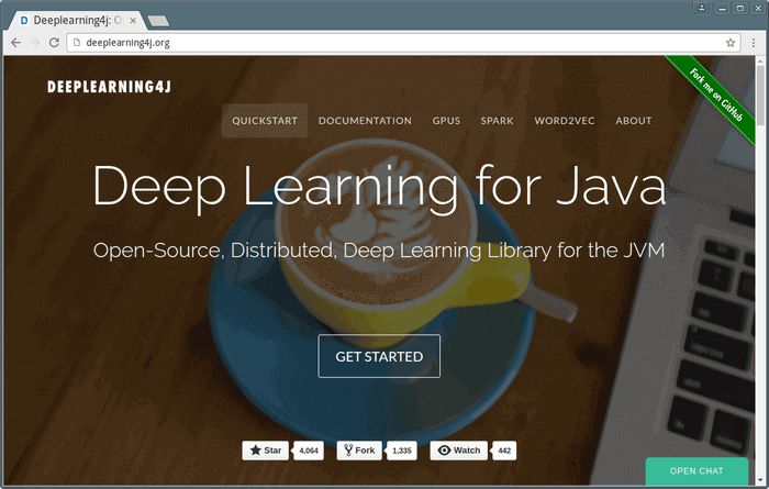 Deeplearning4j - Deep Learning for Java