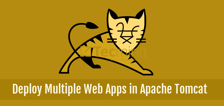 Deploy Multiple Web Apps Instances in Apache Tomcat Server