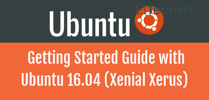 Free Ebook - Getting Started with Ubuntu 16.04