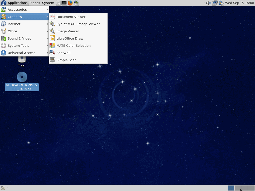 Running Mate Desktop in Fedora 24
