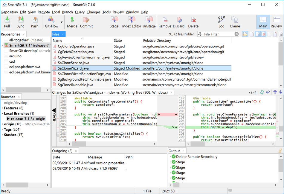 SmartGit - Git Client for Linux