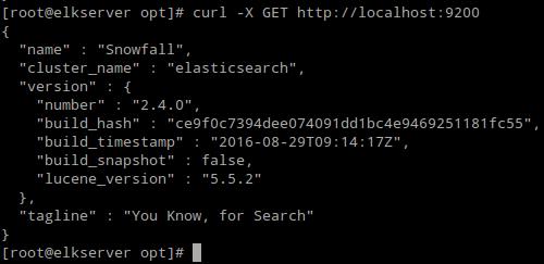 Verify Elasticsearch Installation
