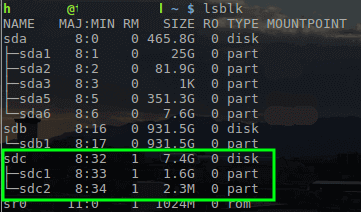 Find Out USB Device Name in Linux