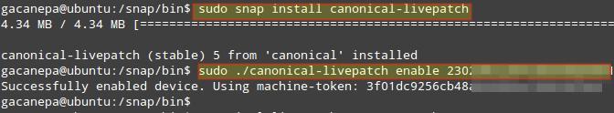 Install Livepatch in Ubuntu
