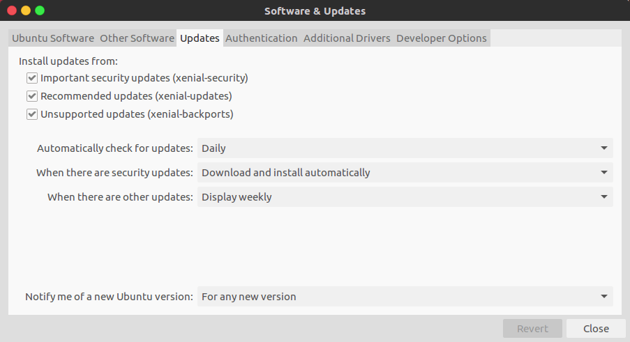 Notify New Ubuntu Version