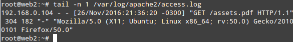 Check Apache Logs