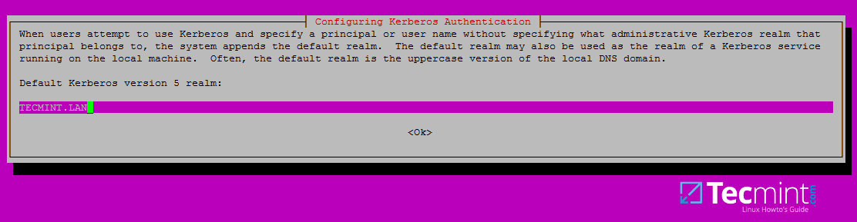 Configuring Kerberos Authentication