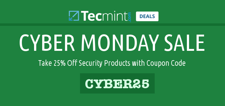 Cyber Monday Security Deals
