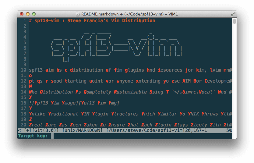EasyMotion Jump Anywhere in Vim