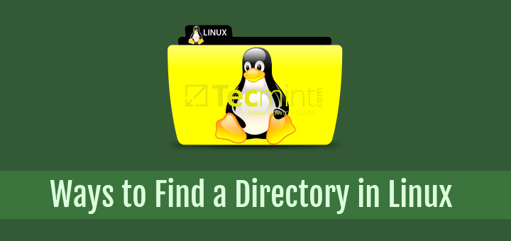Find a Directory in Linux