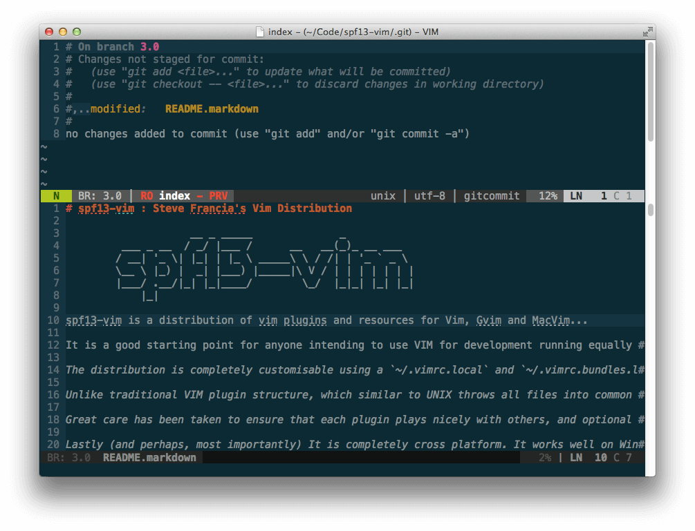 Fugitive Adds Git Integration For Vim